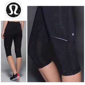 LULULEMON | Luxtreme Animal Swirl Stash It Crop